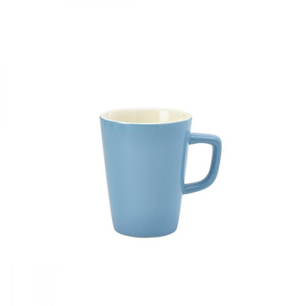 Genware Latte Mug Blue 34cl-12oz