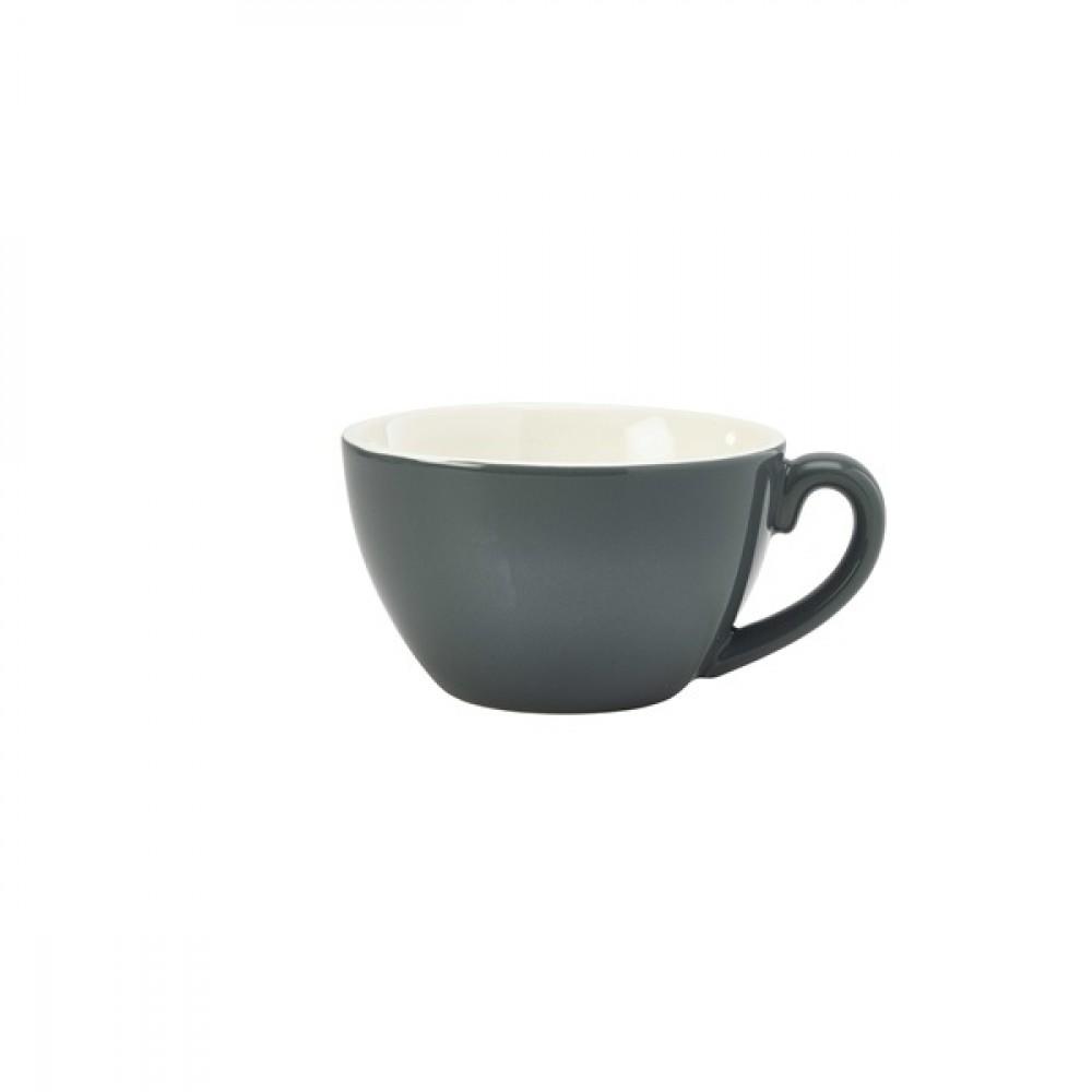 Genware Bowl Shaped Cup Grey 34cl-12oz