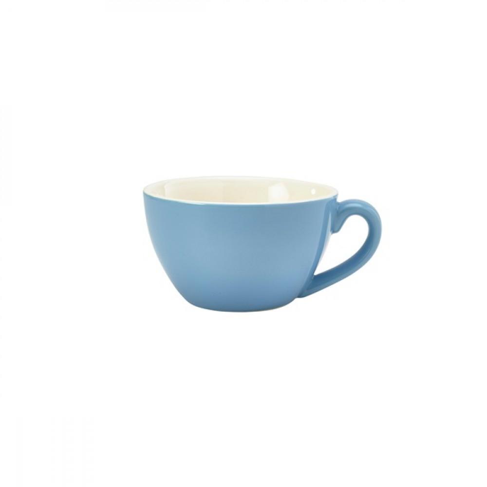 Genware Bowl Shaped Cup Blue 34cl-12oz