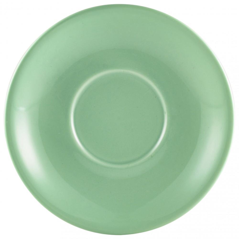 """Genware Saucer Green 12cm-4.7"""""""