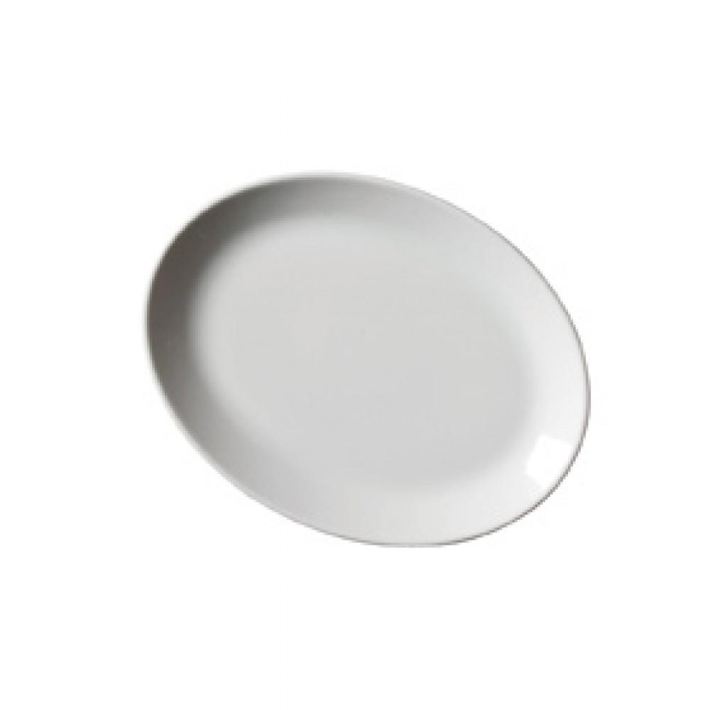 "Genware Oval Plate 24cm/9.25"""