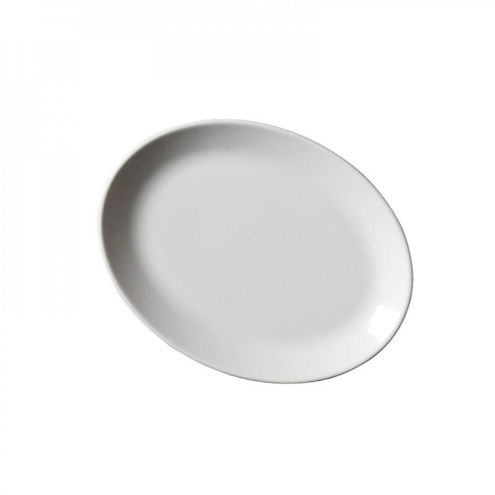 "Genware Oval Plate 25.4cm/10"""