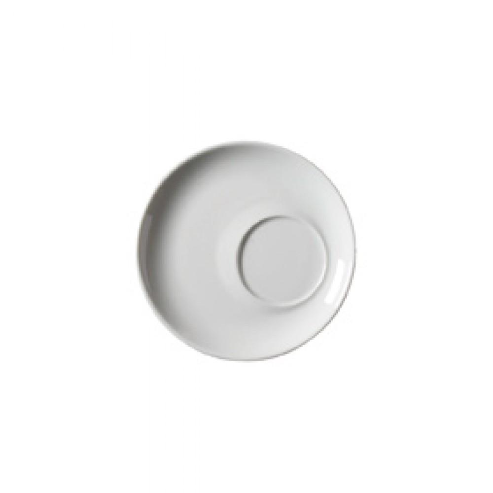 """Genware Offset Saucer 17cm-6.7"""" Diameter"""