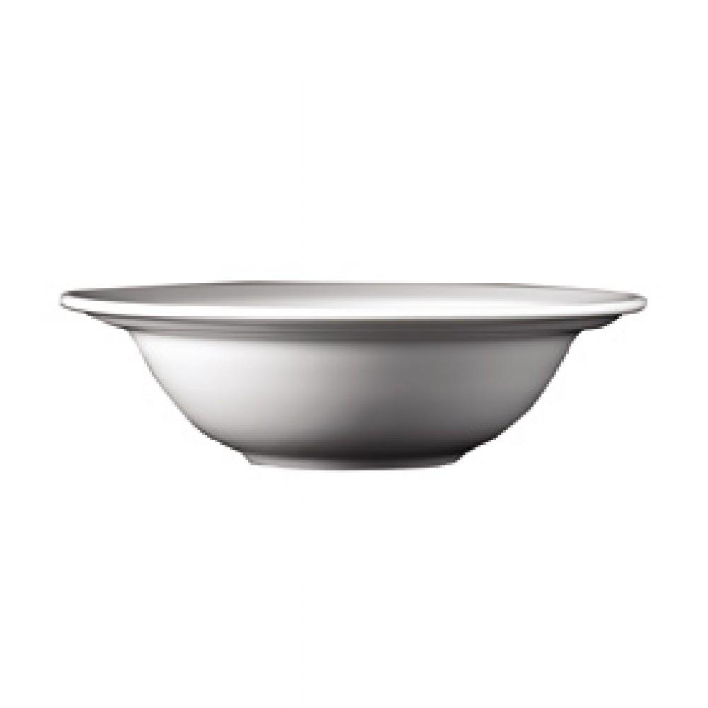 "Genware Rimmed Oatmeal Bowl 16cm/6.25"""