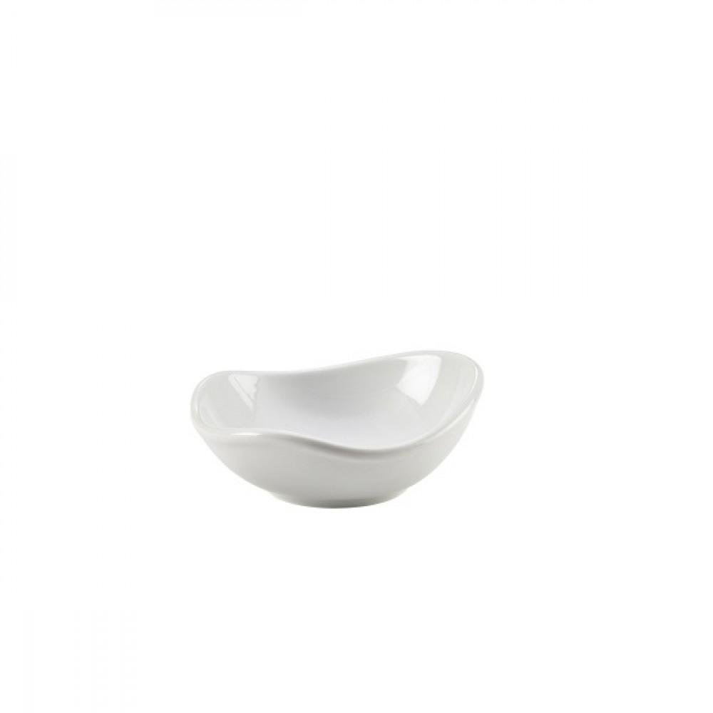 Genware Organic Triangular Bowl 12.7x12x5cm