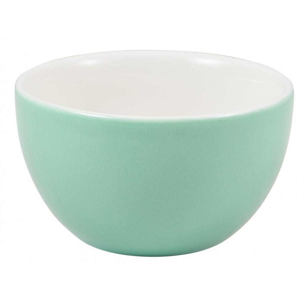 Genware Sugar Bowl Green 17.5cl-6oz
