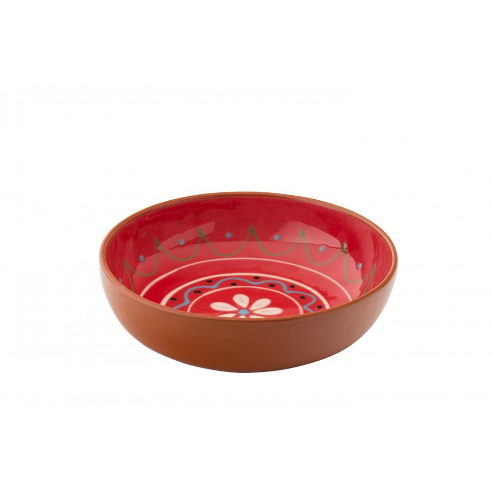 """Utopia Estrella Fiesta Red Bowl 18cm-7"""""""