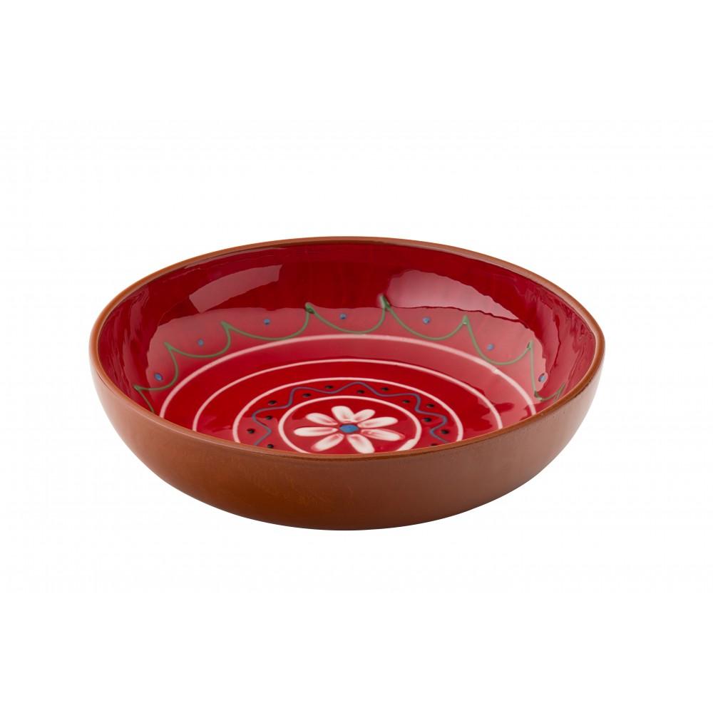 """Utopia Estrella Fiesta Red Bowl 22cm-8.5"""""""