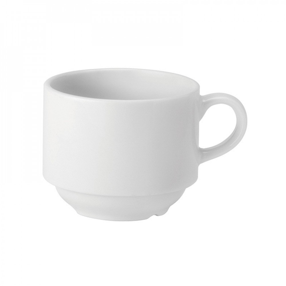 Utopia Pure White Stacking Cup 20cl/7oz