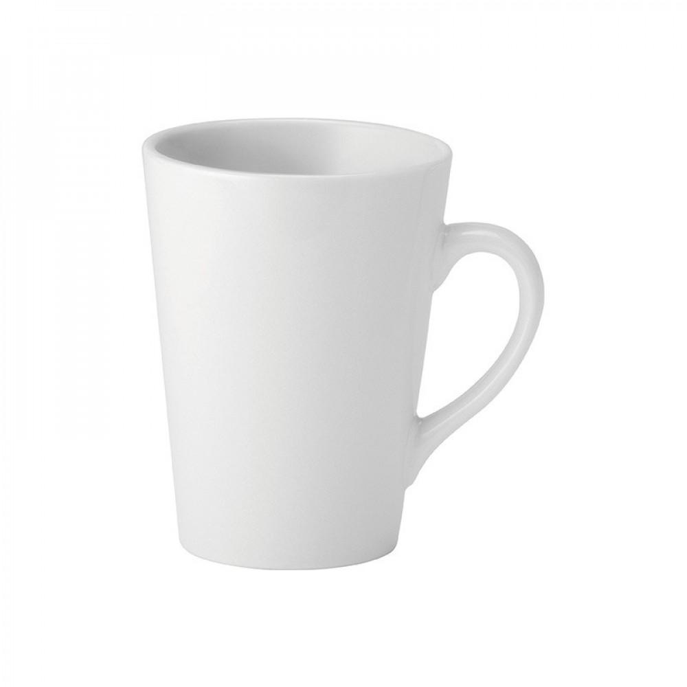 Utopia Pure White Latte Mug 25cl/8.5oz