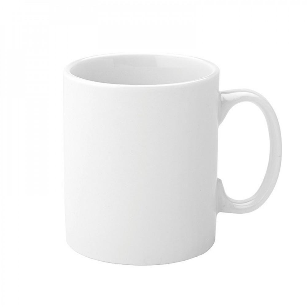 Utopia Pure White Straight Sided Mug 28cl/12oz