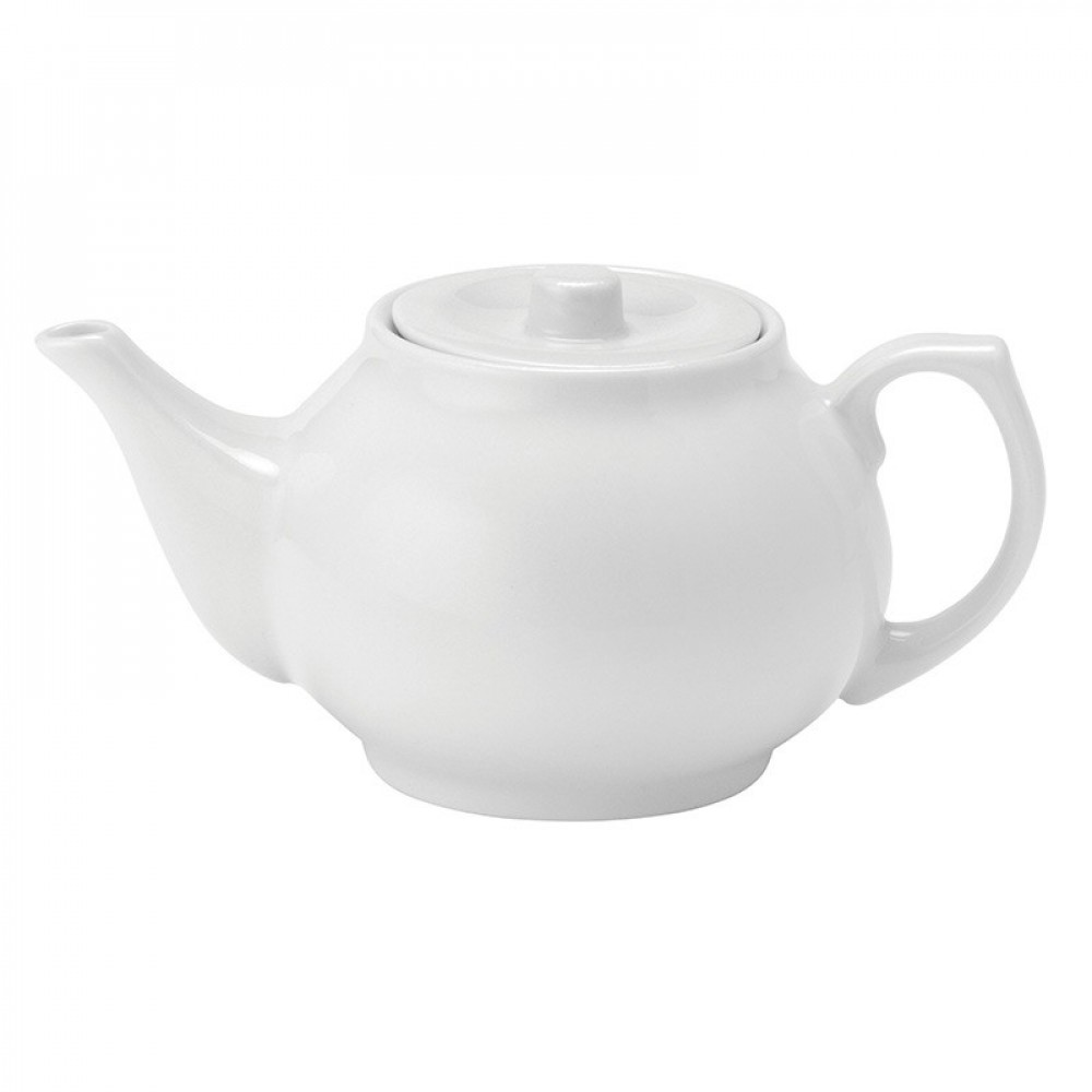 Utopia Pure White Tea Pot 43cl/15oz