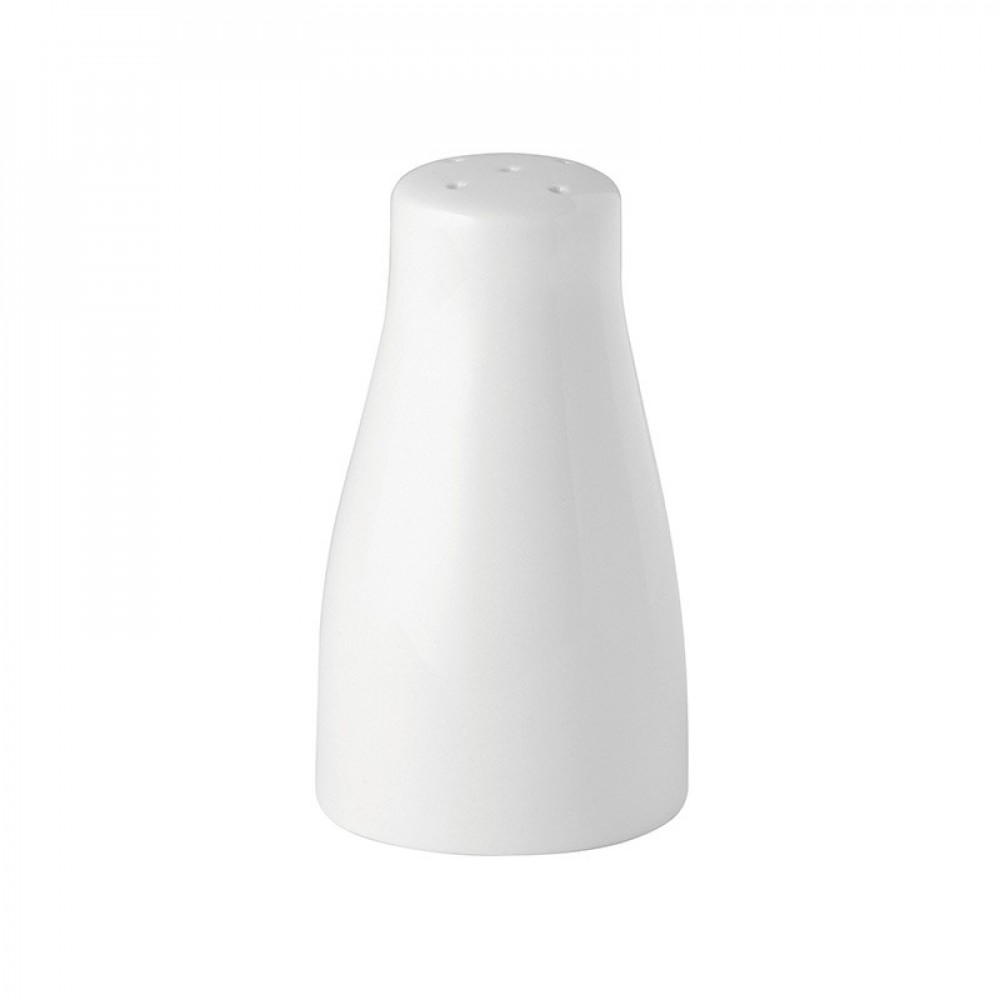 Utopia Pure White Pepper Pot 8.5cm/3.3""