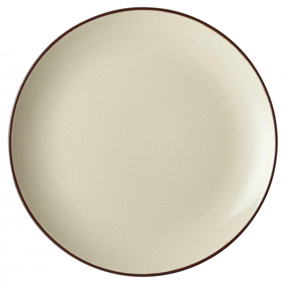 "Utopia Soho Stone Coupe Plate 25cm-10"""