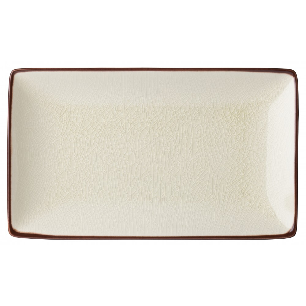 "Utopia Soho Stone Rectangular Plate 21x14cm-8.5x5.5"""