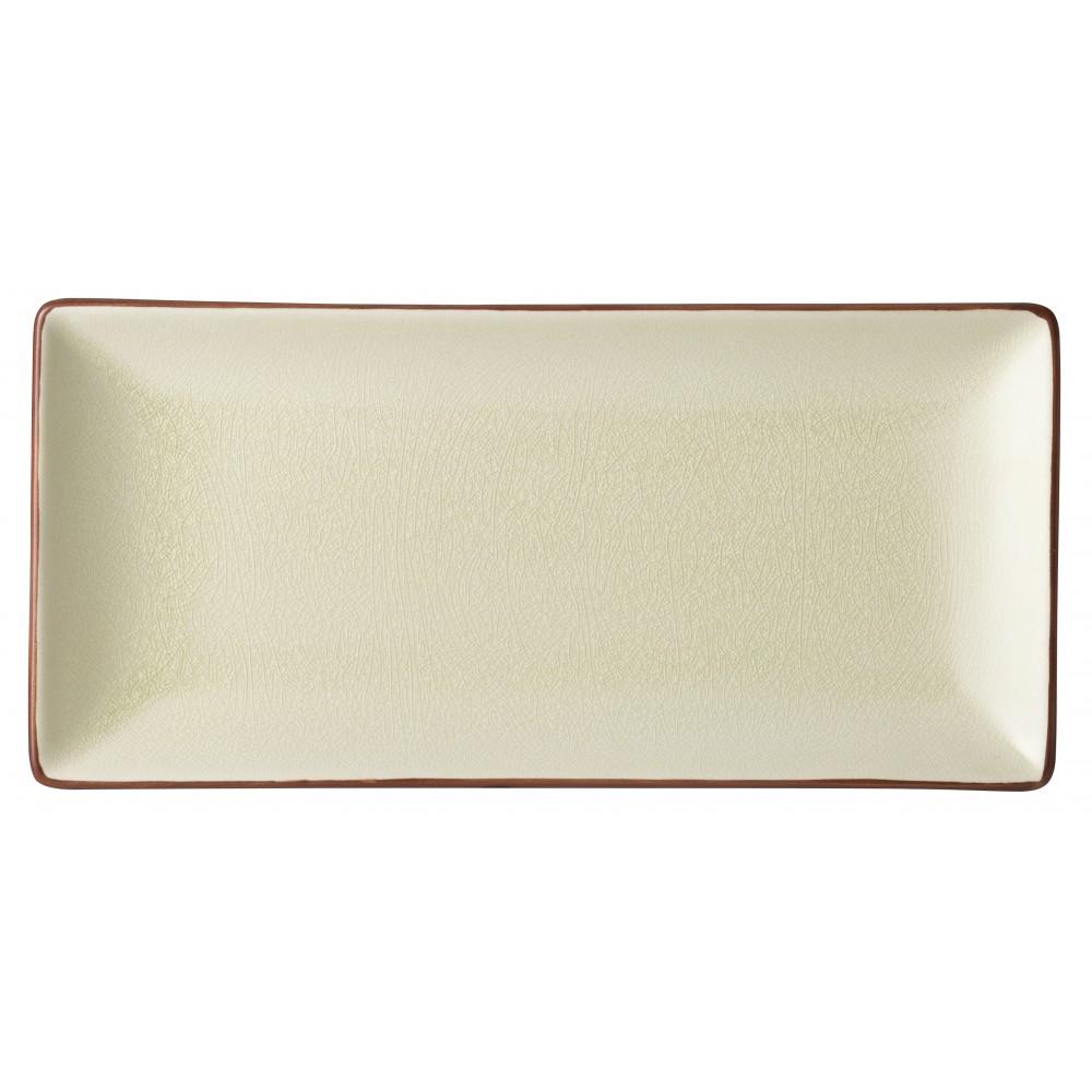 "Utopia Soho Stone Rectangular Plate 30x14cm-12x5.5"""