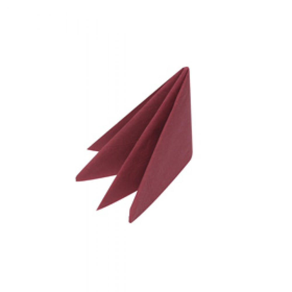 Swantex Burgundy Lunch Napkin 2 ply 33cm