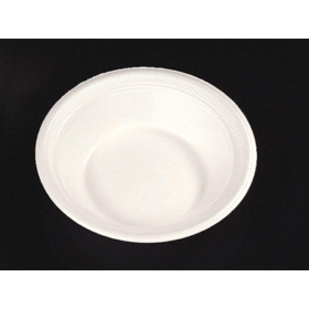 Berties White Eps Foam Bowl 8oz Berties Direct