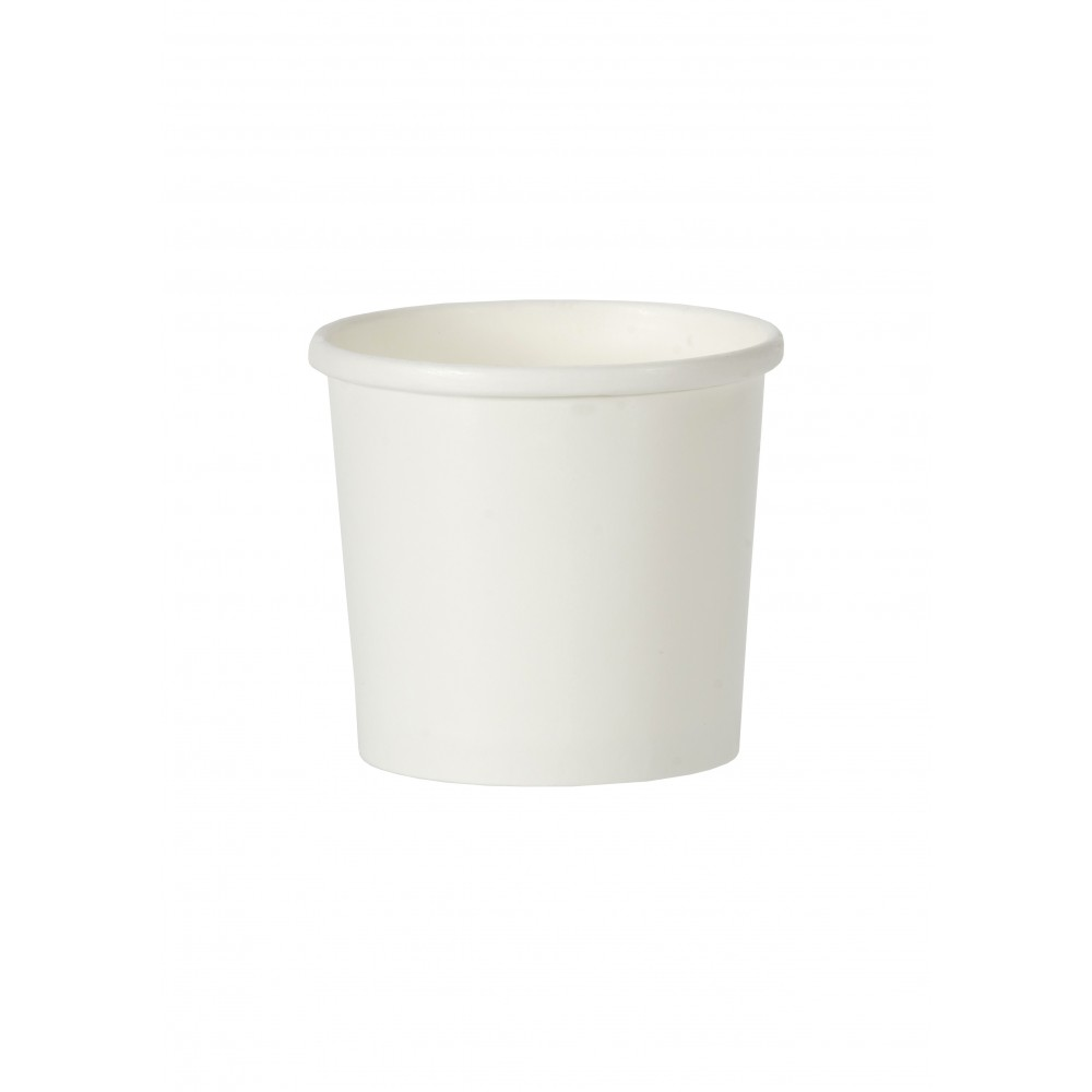 Berties White Heavy Duty Paper Soup Container 12oz