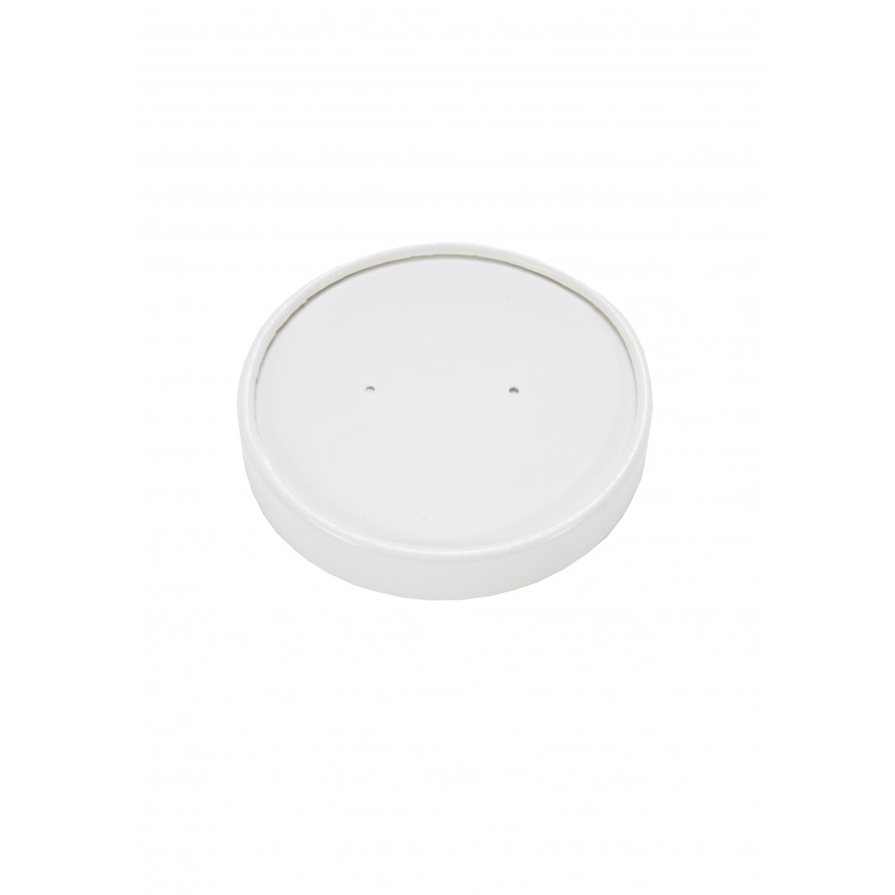 Berties White Heavy Duty Paper Lid to fit 16oz