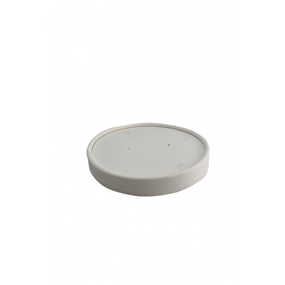 Berties White Heavy Duty Ripple Pot Lid to fit 16oz/19oz