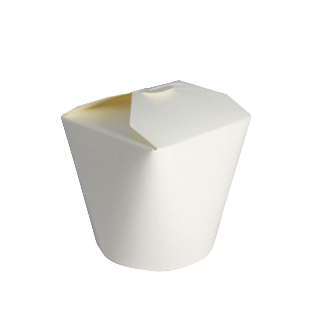 Berties White Heavy Duty Paper Food Pail 16oz