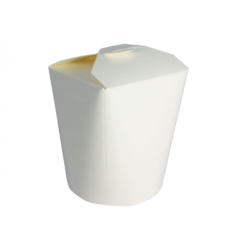 Berties White Heavy Duty Paper Food Pail 26oz