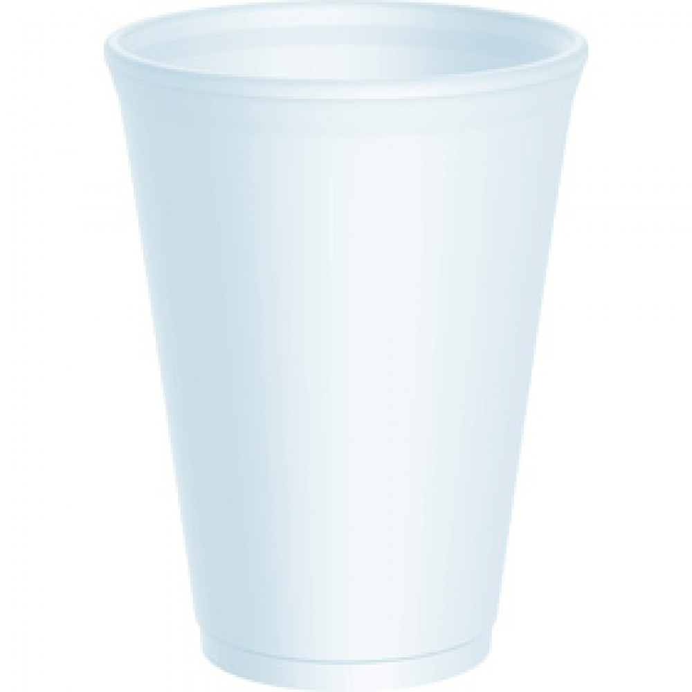 Berties EPS Cup White 34cl/12oz