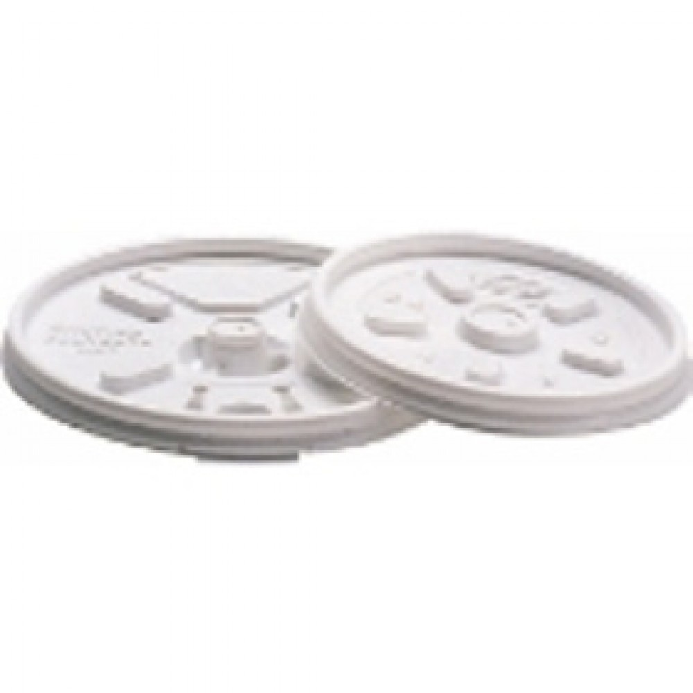Berties Lids for 10oz EPS Cup White