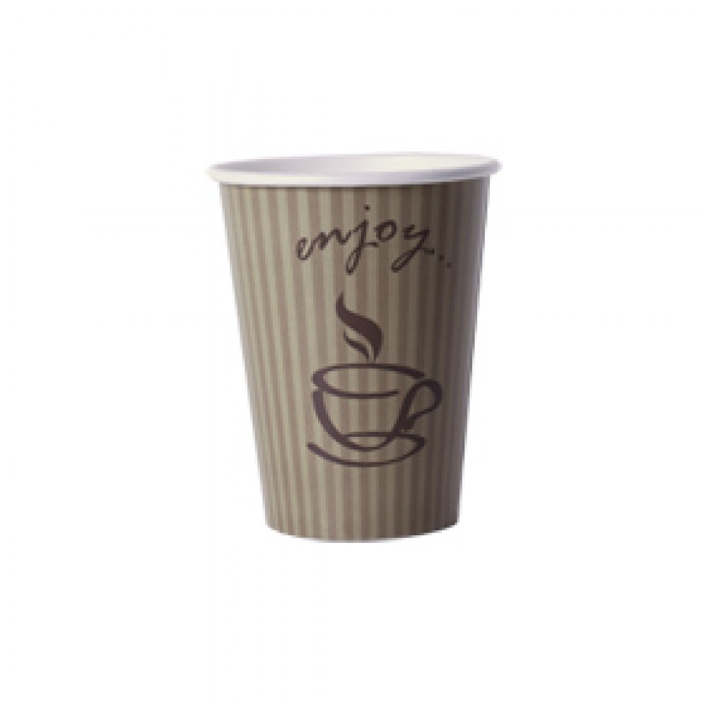 "Berties ""Enjoy"" Paper Hot Cup 23cl/8oz"