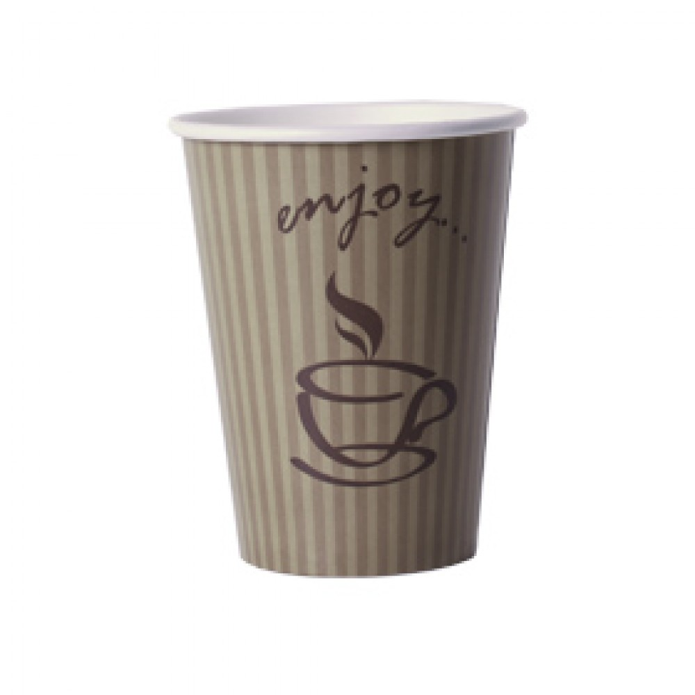 "Berties ""Enjoy"" Paper Hot Cup 34cl/12oz"