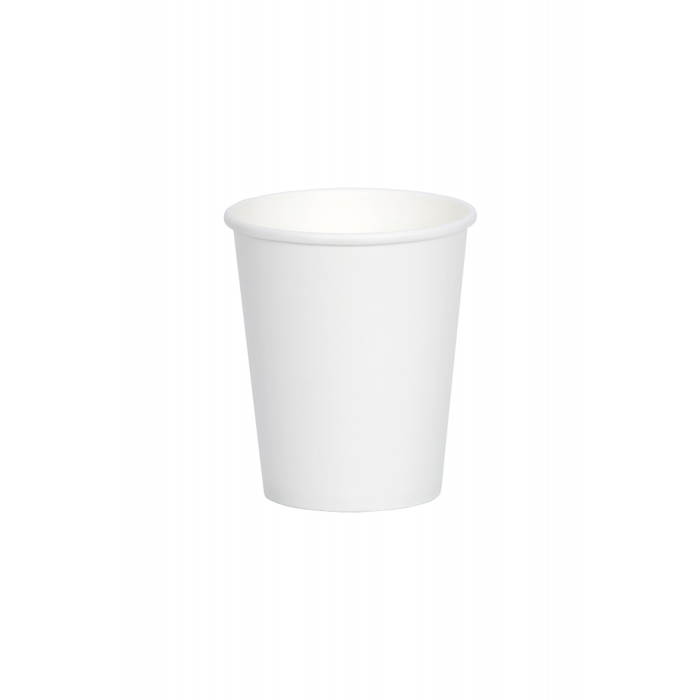 Berties White Single Wall Paper Cup 23cl/8oz