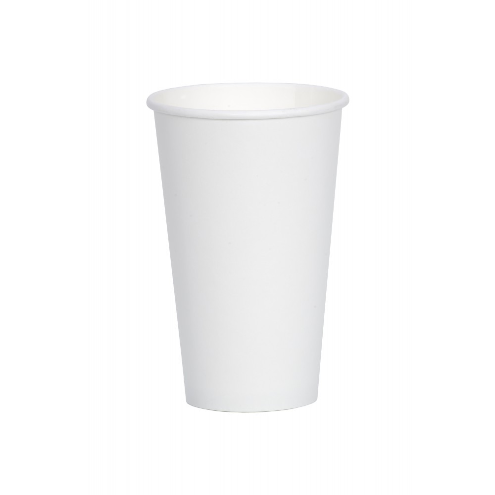 Berties White Single Wall Paper Cup 45cl/16oz