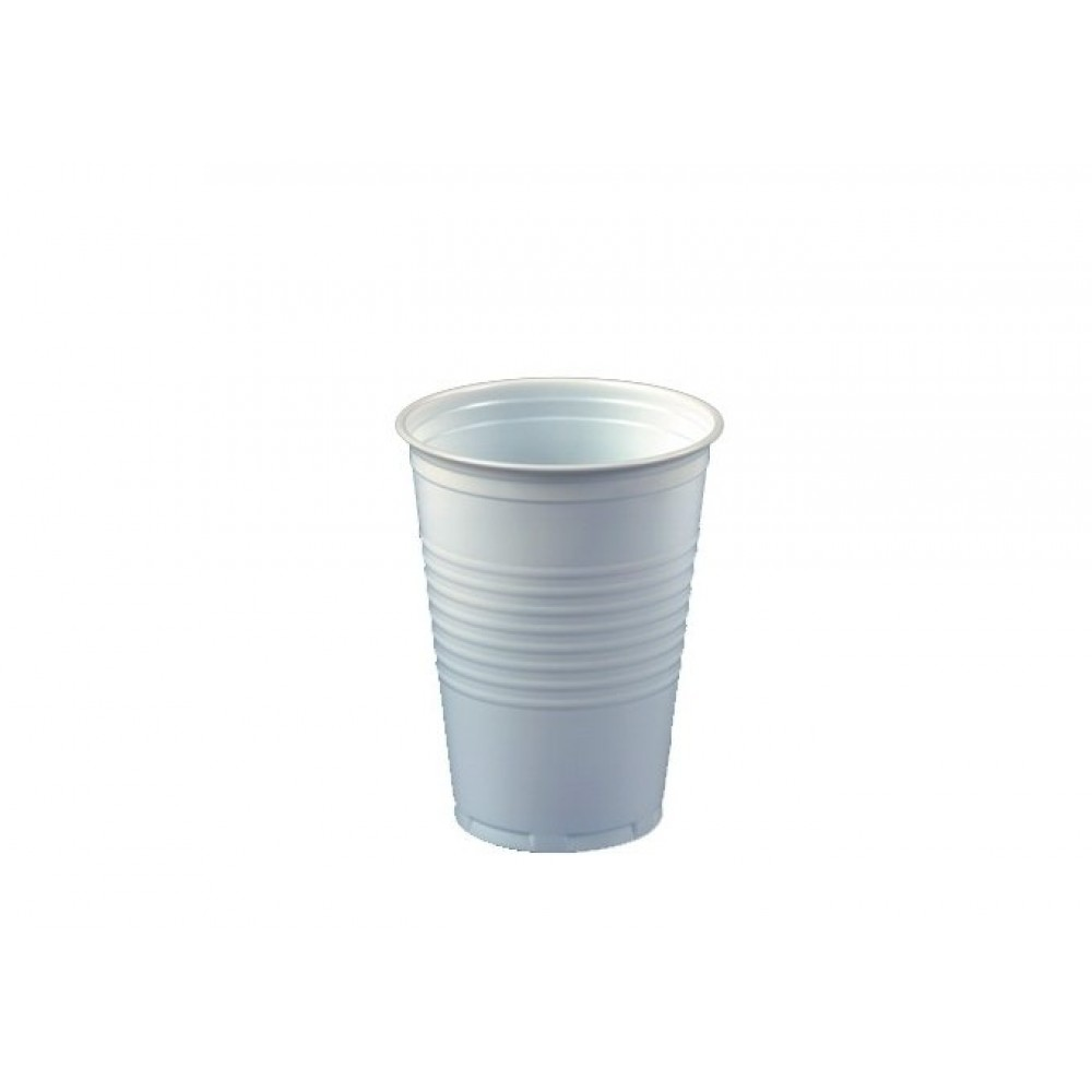 Berties White Tall Plastic Non-Vend Cup 7oz