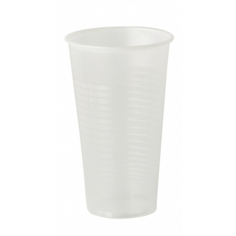 Berties Polypropylene Non-Vending Tall Cup Translucent 27cl/9oz