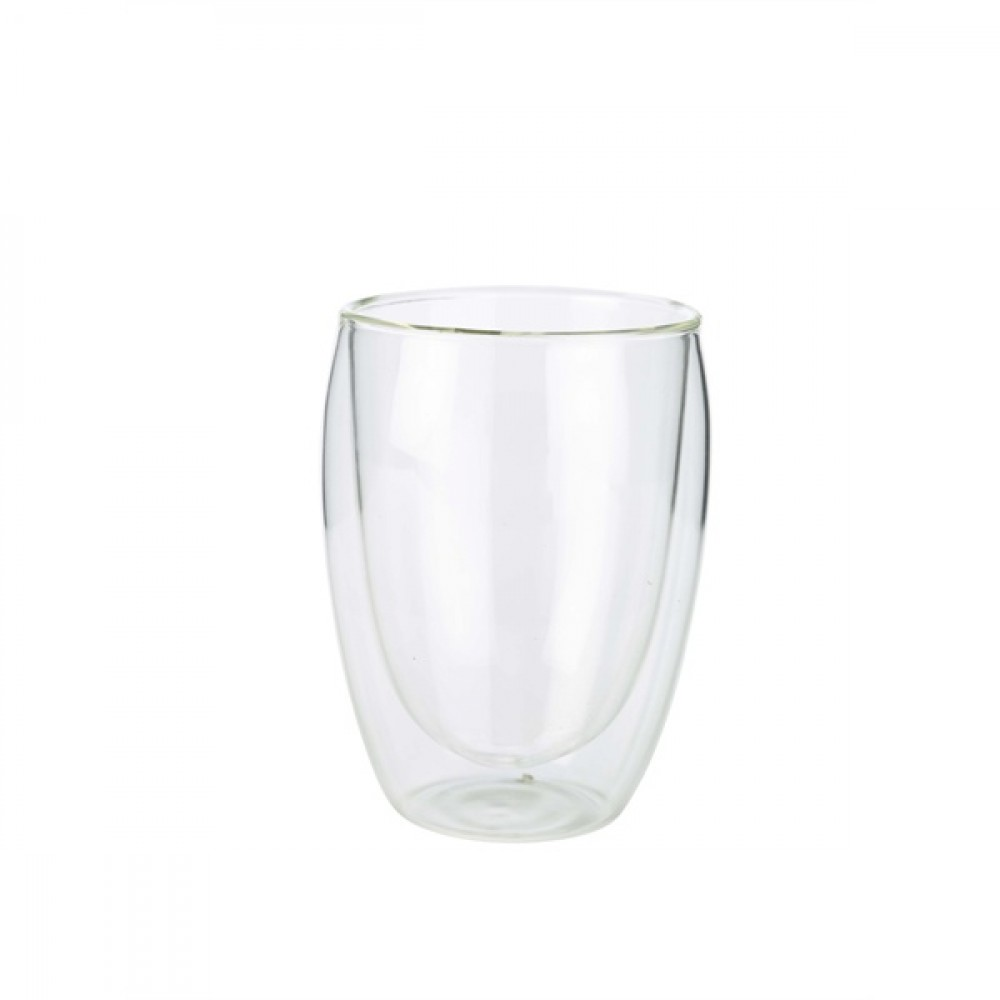 Berties Double Walled Coffee Glass 350ml 11x8cm