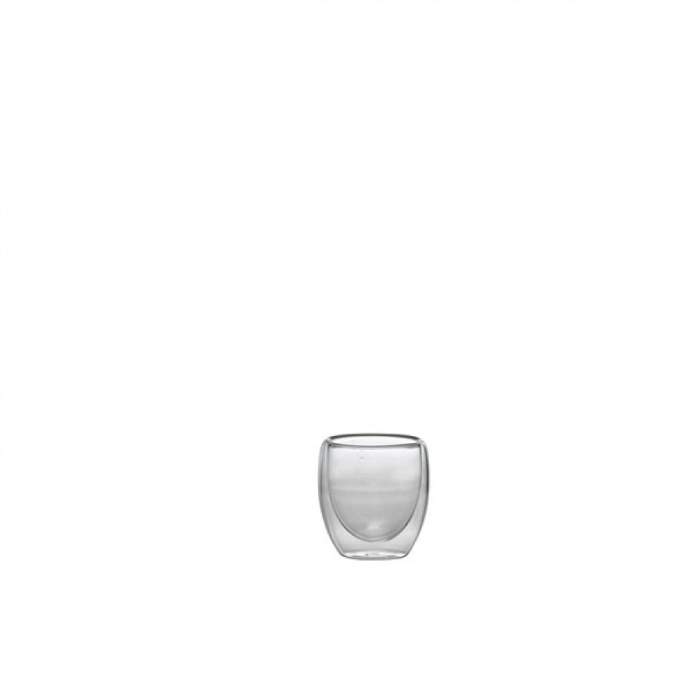 Berties Double Walled Espresso Glass 10cl/3.5oz