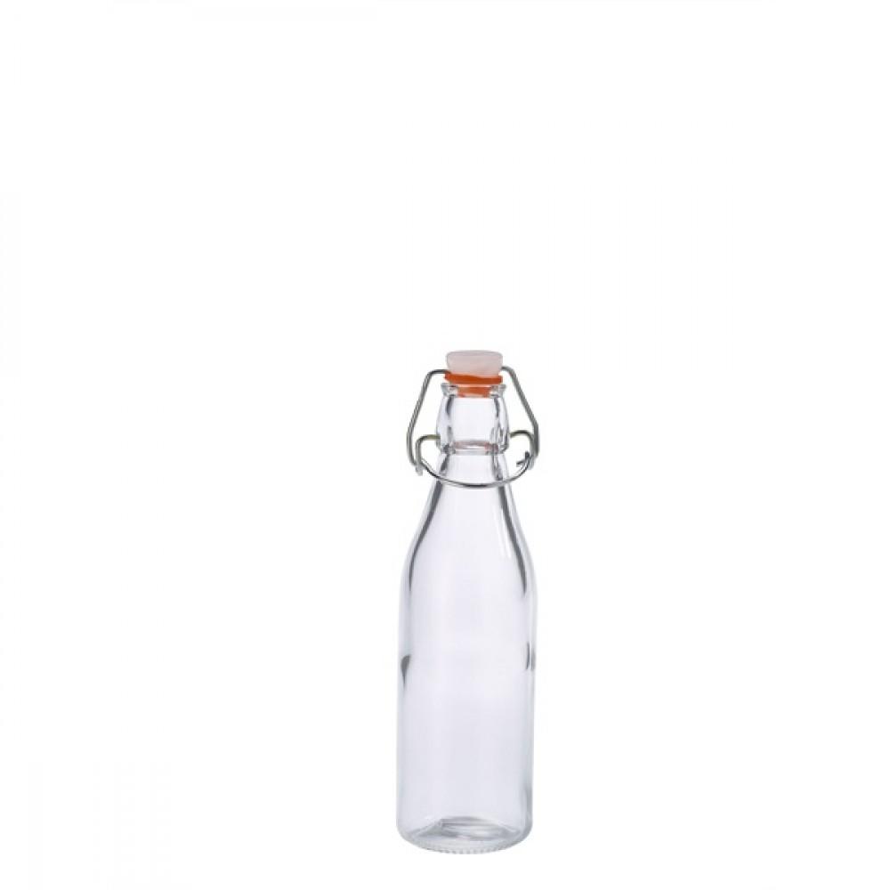 Genware Glass Swing Bottle 250ml