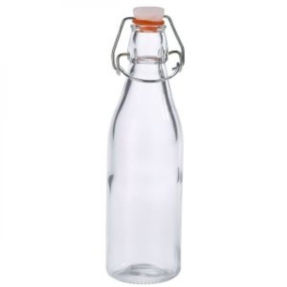 Genware Glass Swing Bottle 500ml