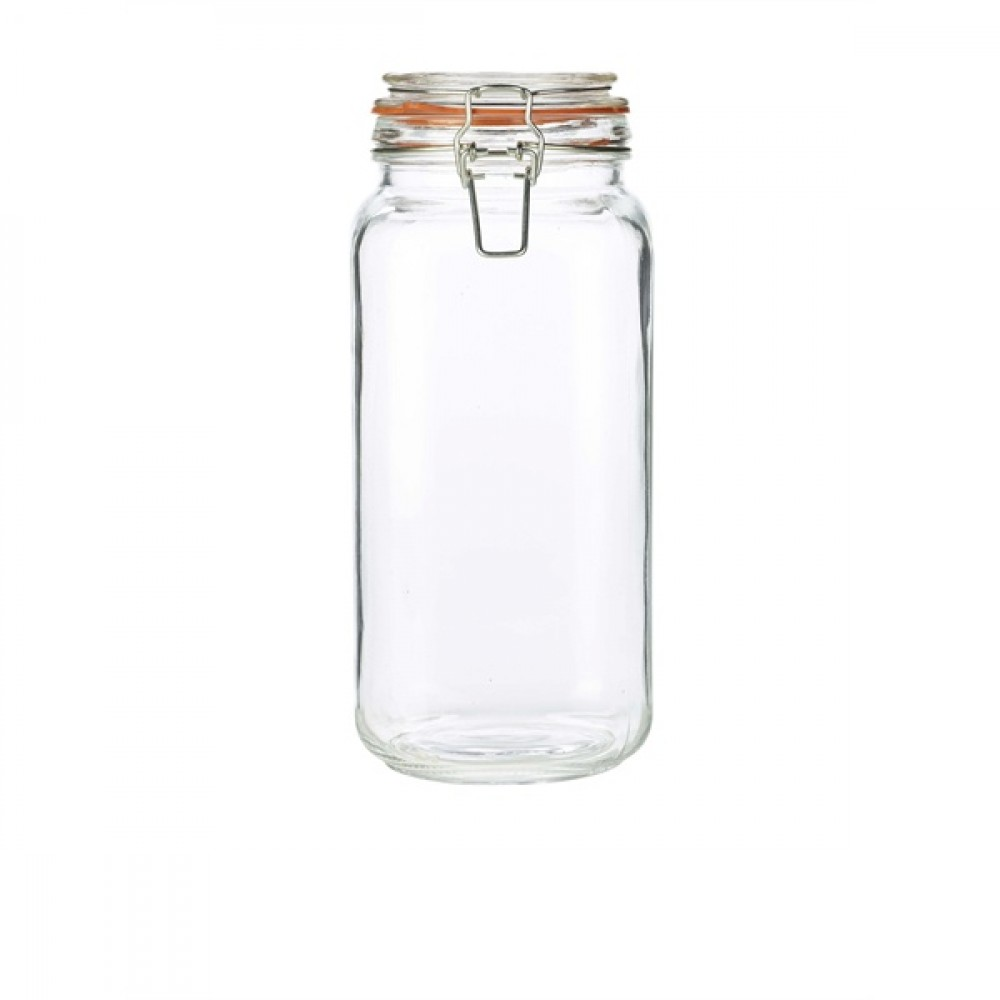 Genware Glass Terrine Jar 2L