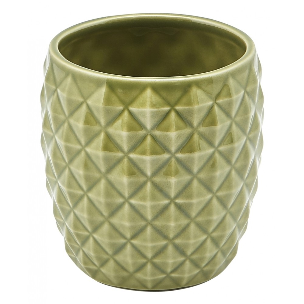 Genware Pineapple Tiki Mug Green 40cl-14oz