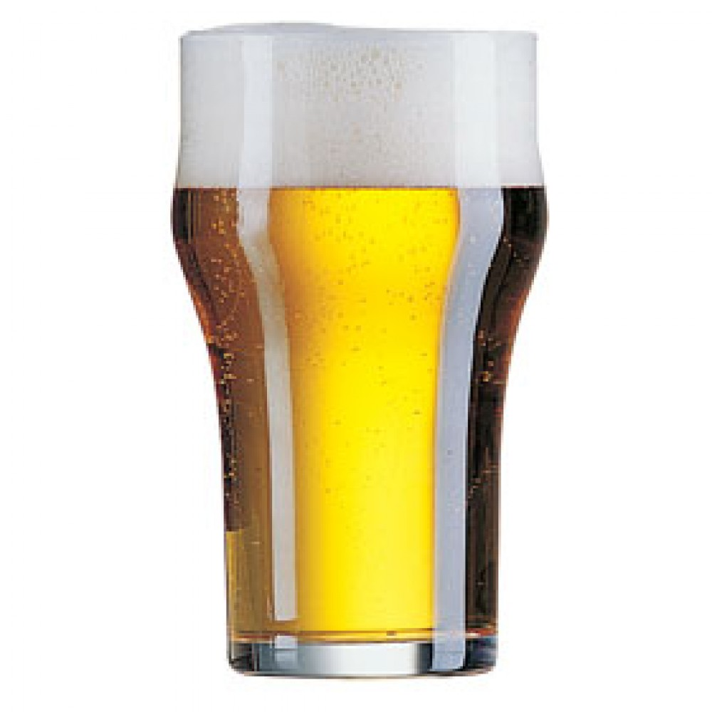 Arcoroc Nonic Beer Glass 29cl/10oz CE