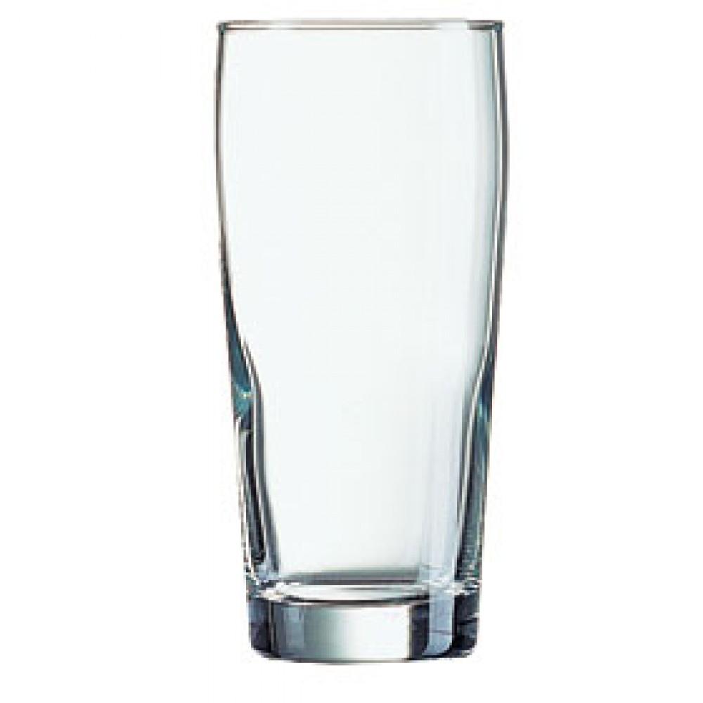 Arcoroc Willi Becher Beer Glass 33cl/11.5oz LCE 10oz