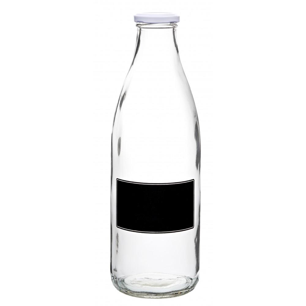 Utopia Lidded Bottle with Blackboard 35oz/1L