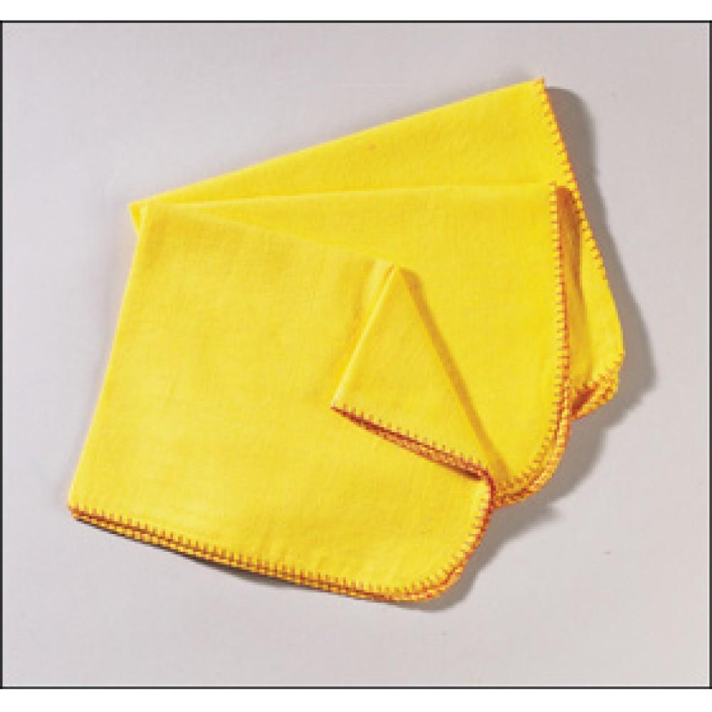 Berties Yellow Dusters 500x500mm