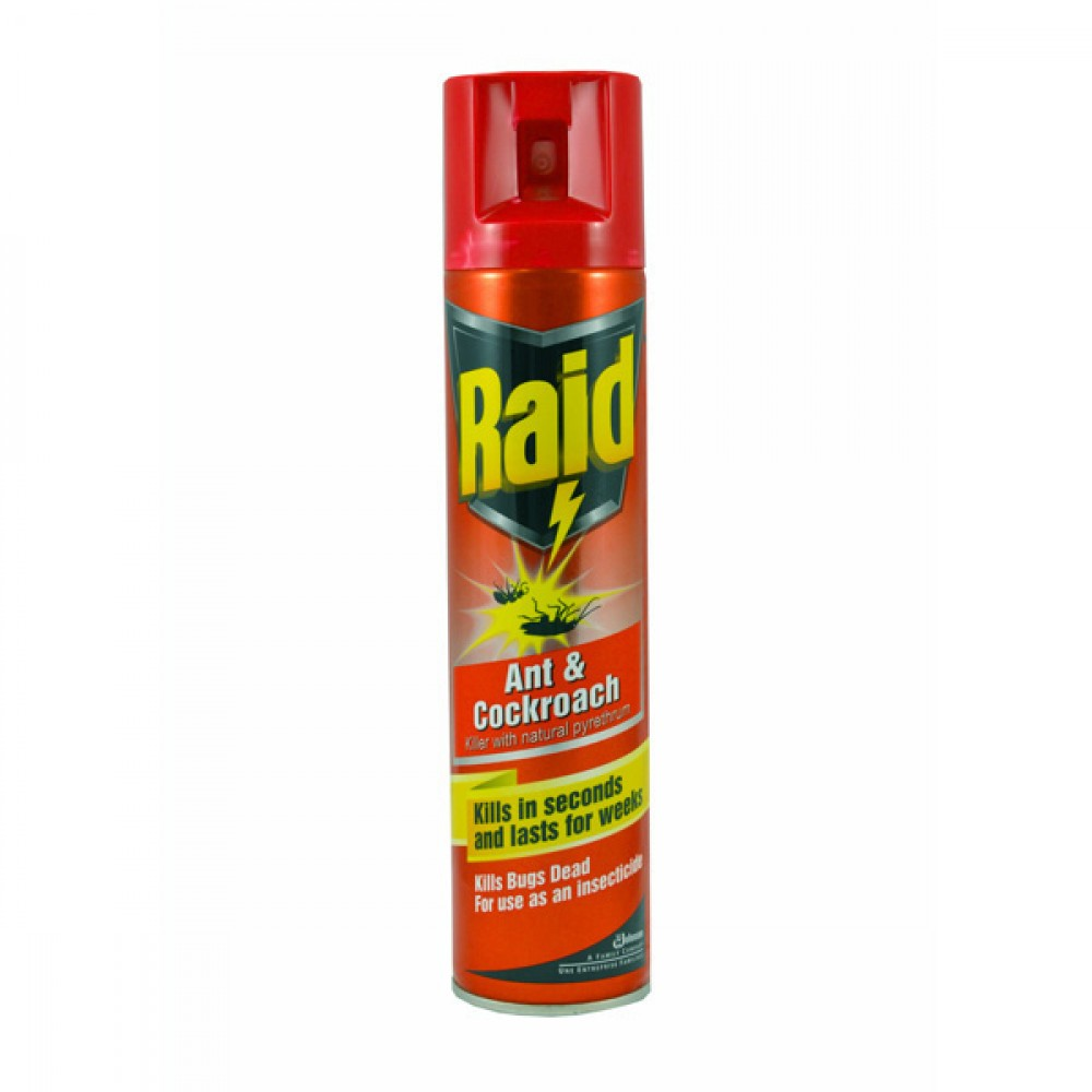 Raid Crawling Insect Spray 300ml Berties Direct