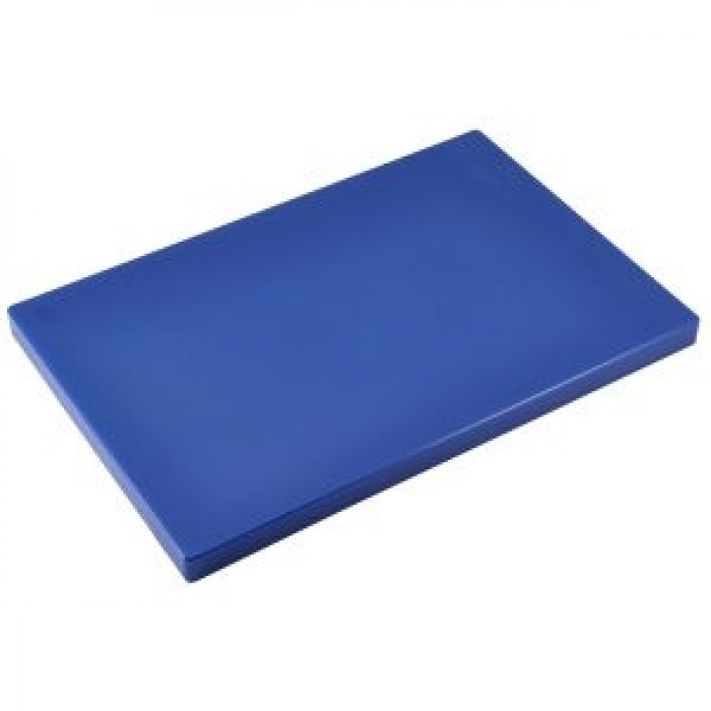 Genware Blue Chopping Board 450x300x25mm
