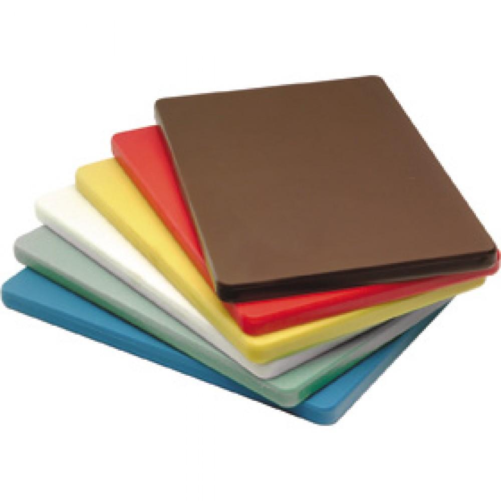 Genware Brown Chopping Board 450x300x25mm