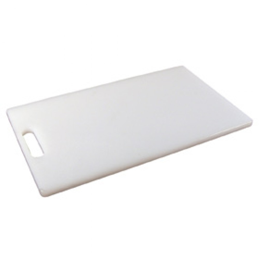 Genware White Low Density Chopping Board 250x150x12.5mm