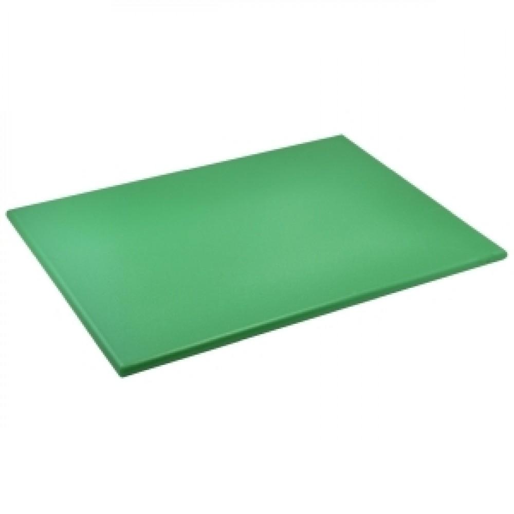 Genware Green High Density Chopping Board 600x450x18mm